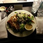 Chicken salad via room service - very good!
