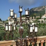 Candelabra on the terrasse