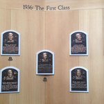 The First Class of the Hall of Fame