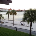 Another beach photo from our room with Grand Floridian in the background