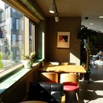 Good sunlight coming into the dinning place