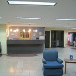 lobby, Days Inn Sioux City, Iowa, Oct 2014