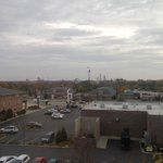 View from room/balcony - Six Flags in distance