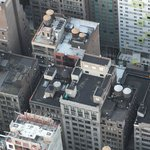 This is from the top of the Empire State - the hotel is top right, so you can see how many rooms