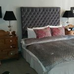 The bed with Egyptian cotton