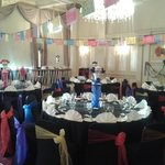 The dining/function room before the event