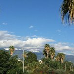 Mount Etna from the pool side