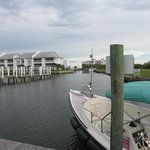 A view of the marina from the ICW