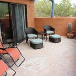 Fantastic patio with Casita
