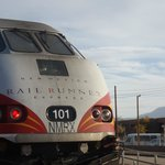 Rail Runner Train to Sante fe with stops in between