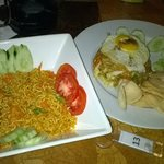 Mie Goreng and Nasi Goreng