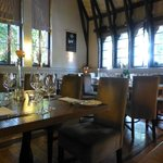 Dining room at Schoolhouse Hotel