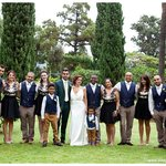 Beautiful gardens and my beautiful wedding party x