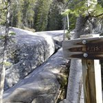 trail to the ice caves