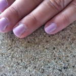 Pictures of my mani from Eurasia Spa