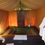 Luxury tent - washroom