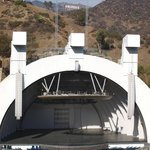 Hollywood Bowl where The Beatles played in 1964 and 1965