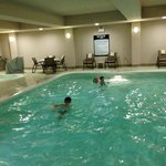 Large heated indoor pool
