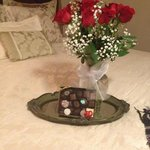 Surprise roses and chocolates available to surprise your love