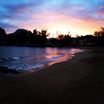 Sunset from Marriott Lihue