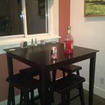 Kitchen table in Room #8
