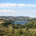 View of Lafayette Reservoir from the Rim Trail