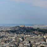 The tour started with this view and and a discussion of the history of Athens.