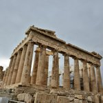 The tour culminated with the climb to the Acropolis!