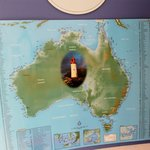 a Map of all the lighthouses in Australia