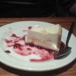 Lemon cheesecake in Brewers Fayre