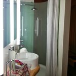 Bathroom has see through shower & larg warehouse style sliding doors. Make sure your ok being na