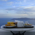 Breakfast with views