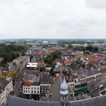 Breda from the church tower