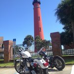 Biketoberfest took the trip to the lighthouse