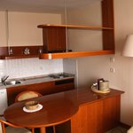 Kitchenette area in room