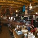 Inside the Hubbell Trading Post