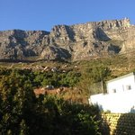 Table Mountain from the Flamingo Room