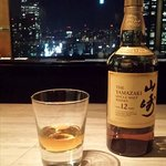 Yamazaki Whiskey at the Mixx Bar