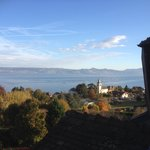 View from 4th floor bedroom over Lake Geneva