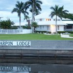 Tarpon Lodge from the docks
