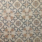Our bathroom tiles - hee hee
