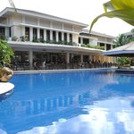 the hotel resto and pool bar
