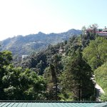 Mussoorie from our balcony