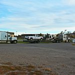 large Parking Lot for 18 Wheelers Truck & RV
