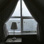 view of lake myvatn from our room