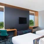 Aloft Charlotte Ballantyne Double Queen Guest Room