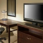 Guest Room Desk and Television