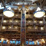 Lobby Area of Wilderness Lodge