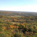 lookout from the top of holy hill in Oct
