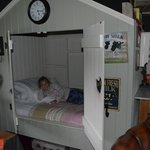 The infamous cupboard bed